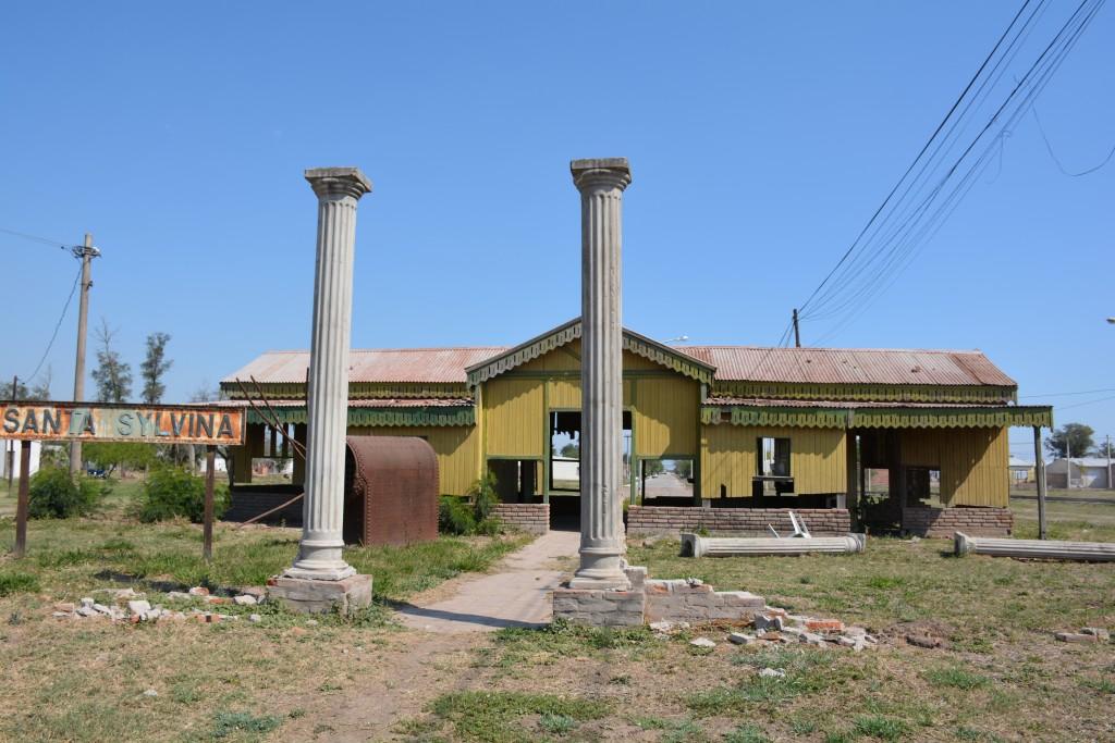 El abandono de la Estación Ferroviaria.